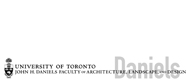 Daniels Faculty of Architecture at the University of Toronto